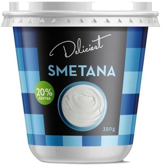 Deliciest 350G Smetana 20%