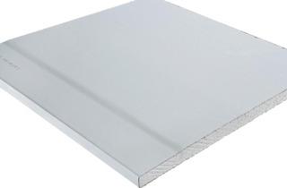 Pohjamaalattu kipsilevy LaDeco suorareunainen 12,5x1200x2600 mm