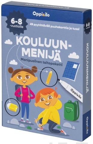 Oppi&Ilo Kouluunmenijä Monipuolinen Taitopaketti 6-8V