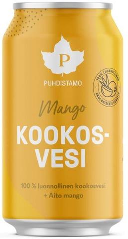 Puhdistamo Kookosvesi Mango 310Ml