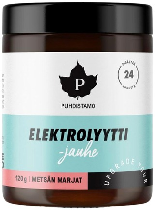Puhdistamo > Keto Kickstart Elektrolyyttijauhe - Metsän Marjat 120G