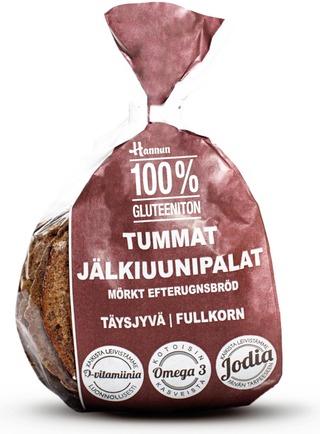Glutenfri Mörkt Efterungsbröd