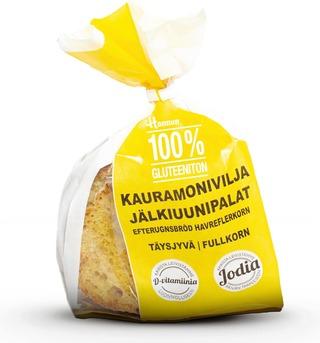 Hannun 100% Gluteeniton Vaalea Jälkiuunipala