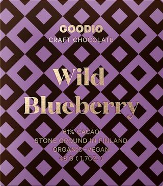 Goodio 48G Wild Blueberry 61% Suklaa