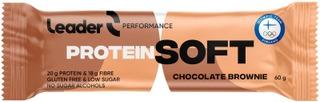Leader Softbar Gluteeniton Suklaakakunmakuinen Proteiinipatukka 60 G