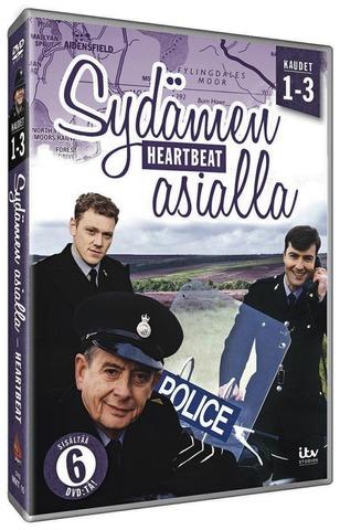 Dvd Heartbeat - Sydämen Asialla Kaudet 1-3 6Dvd