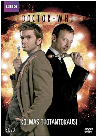 Doctor Who 3. Tuotantokausi 3Dvd