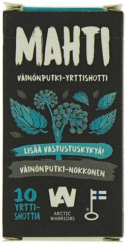 Arctic Warriors 40g Mahti väinönputki-yrttishotti 10kpl