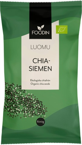 Foodin Chia-Siemen Luomu 600G