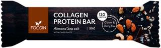 Foodin Manteli-Merisuola Kollageeniproteiinipatukka