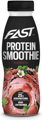 Naturally High Protein Smoothie 330Ml Mansikka