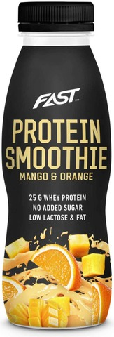 Naturally High Protein Smoothie 330Ml Appelsiini-Mango