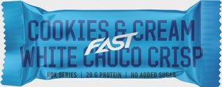 Fast Rox 55 G Cookies & Cream Valkosuklaa