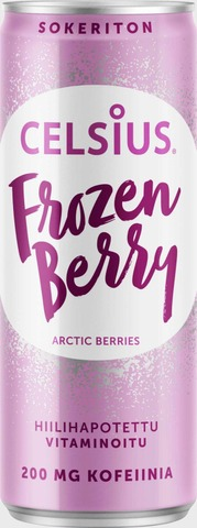 Celsius 355 ml  Frozen berry Limited Edition 2019