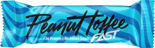 Fast Peanut Toffee 42 G  Kerroksellinen Proteiinipatukka
