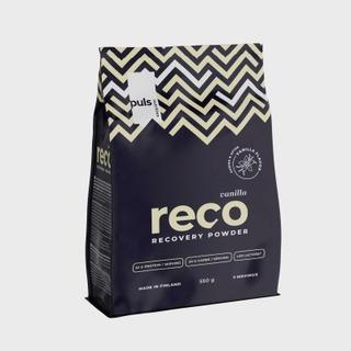 Puls Reco 550G Vaniljan Makuinen Proteiini-Hiilihydraattijuomajauhe
