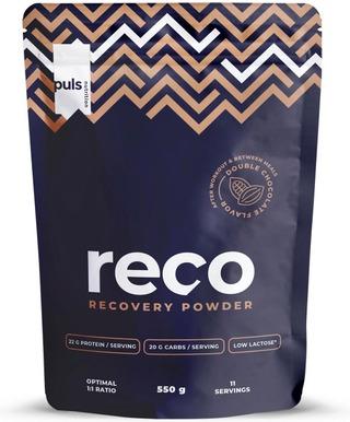 Puls Reco 550G Suklaan Makuinen Proteiini-Hiilihydraattijuomajauhe