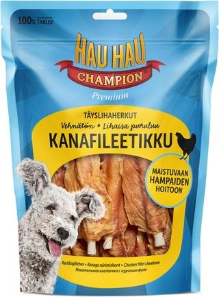 Hau-Hau Champion Täyslihaherkut Kanafileetikku 325G