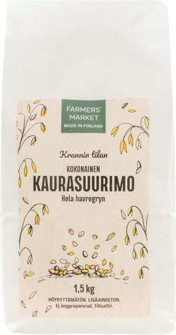 Farmers Market Krannin Tilan Kaurajauho 1Kg