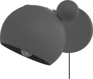 Heat Mouse Seinävalaisin  Harmaa