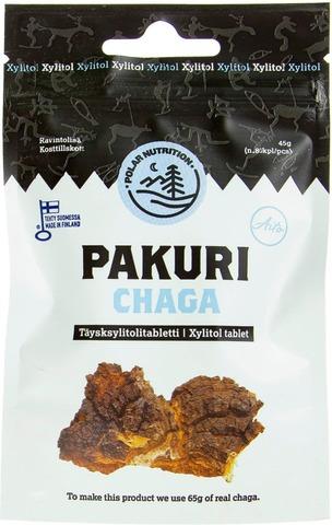 Polar Nutrition 45G Täysksylitolitabletti Pakuri