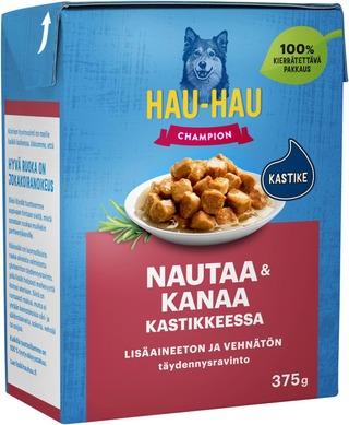 Hau-Hau Champion Liha-Kanapalat Kastikkeessa 375 G