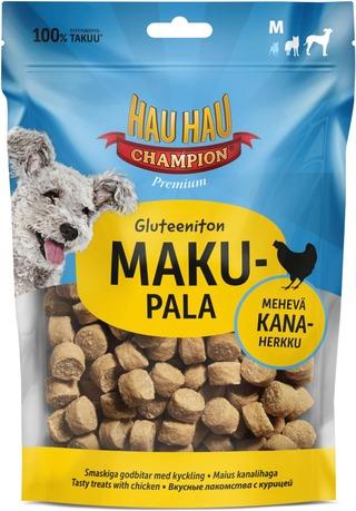 Hau-Hau Champion Makupala Kana Gluteeniton M 120 G
