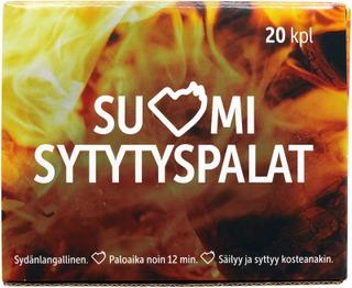 Suomi 20 kpl sytytyspala