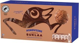 Pingviini Kermajäätelö Kotipakkaus Suklaa 1L/535G