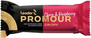 Leader Promour proteiinipatukka maitosuklaa ja vadelma 45 g