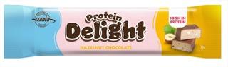 Leader Protein Delight Proteiinipatukka Hasselpähkinän Ja Maitosuklaanmakuinen 32 G