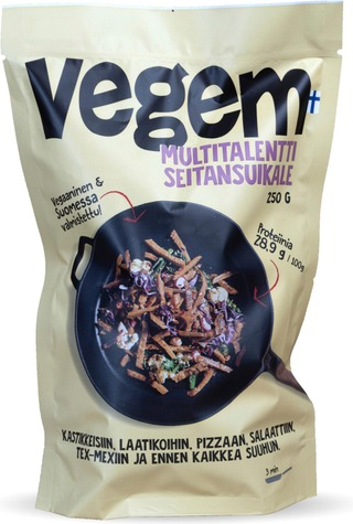 Vegem 250g multitalentti seitansuikale naturel