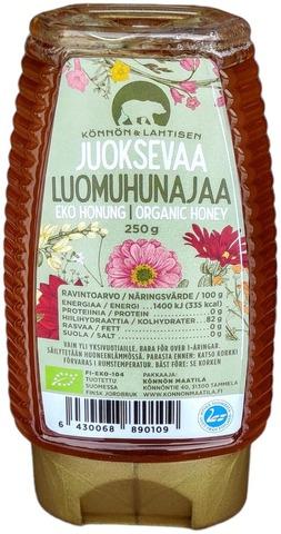 Könnön & Lahtisen Juoksevaa Luomuhunajaa 250 G