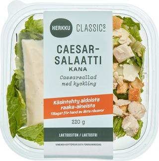Herkku Caesarsalaatti Broileri 220G