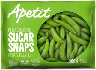 Apetit Sugar Snaps Pullea Sokeriherne Pakaste 300G