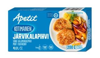 Apetit Kotimainen Järvikalapihvi Särki Kalamurekepihvi Pakaste 200G
