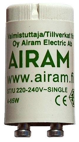 Sytytin 4-65W /2 Yksitkytk Airam