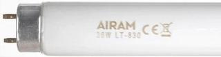 Airam Loistelamppu T8 830 Lämmin Valkea 36W G13 3350Lm 3000K