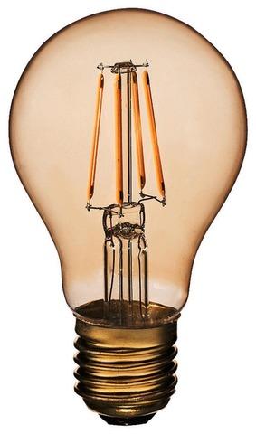 Airam Led-Vakiolamppu Amber Antiikki  5W E27 400Lm 2200K
