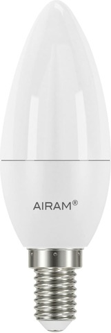 Airam Sauna Led Kynttilä Opaali 6W E14 470Lm 2800K