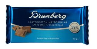 Brunberg Laktoositon Maitosuklaa 150 G
