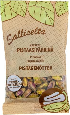 Salliselta Pistaasipähkinä Natural 70G