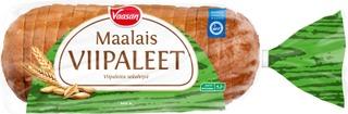 Vaasan Maalaisviipaleet 500 g viipaloitu vehnäsekaleipä