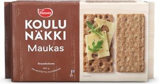 Vaasan Koulunäkki Maukas 460 G Täysjyväruisnäkkileipä