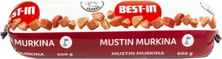 Best-In Mustin Murkina Koiran Tuoreruoka 500g