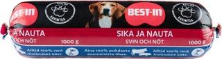 Best-In Sika ja Nauta Jauheliha Lemmikille Pakaste 1kg