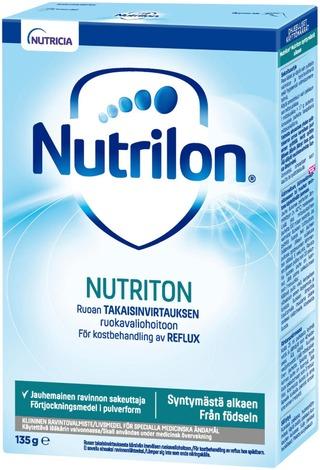 Nutrilon Nutriton, Kliininen Ravintovalmiste, Jauhemainen Ruoan Sakeuttaja 135G, Alk 0Kk