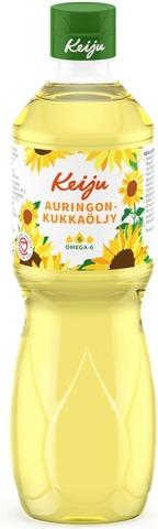 Keiju Auringonkukkaöljy 500 ml