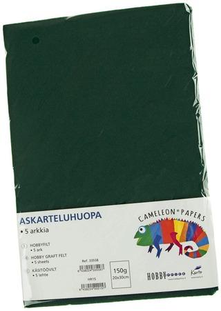 Karto Askarteluhuopa Musta 20X30cm 5Ark/Pss