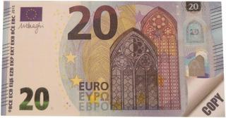 Karto Muistilehtiö Rahat 20€